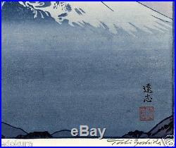 Yoshida Toshi JAPANESE Woodblock Print SHIN HANGA From Katsuragi-Yama