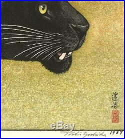 Yoshida Toshi Kuro Hyo Japanese Traditional Woodblock Print